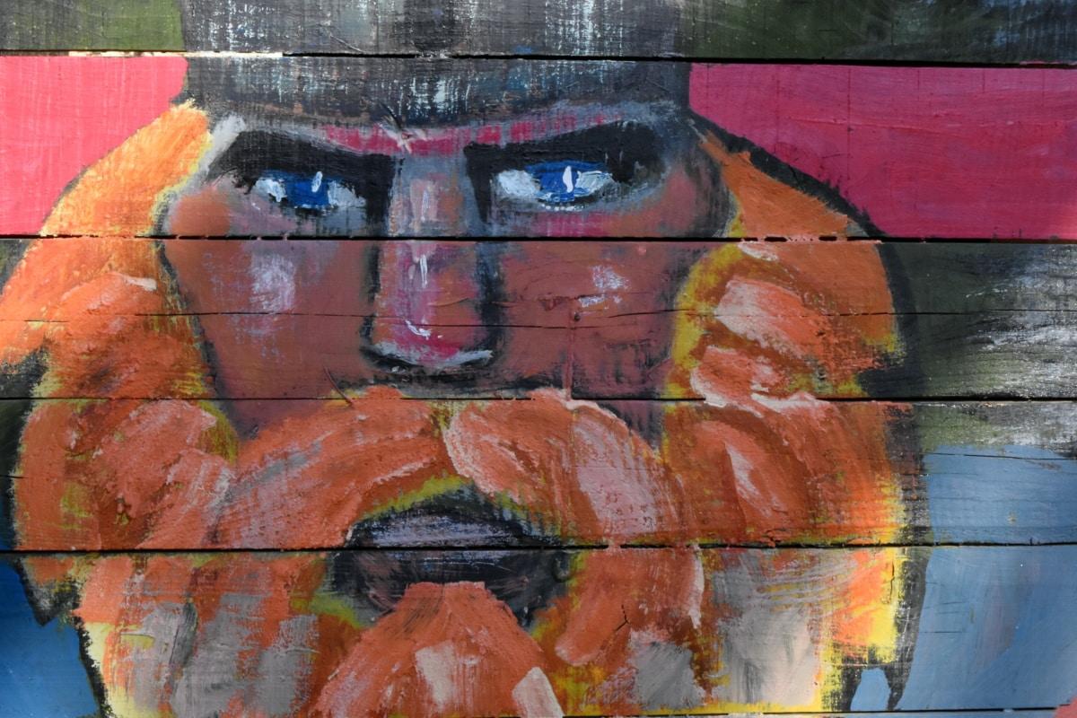 painting, wall, graffiti, art, spray, vandalism, artistic, dirty