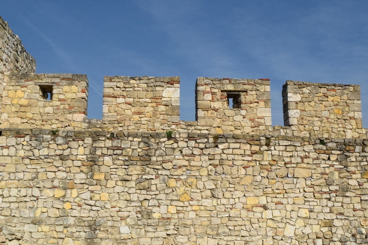 brick, stone, old, architecture, rampart, ancient, fortress, wall
