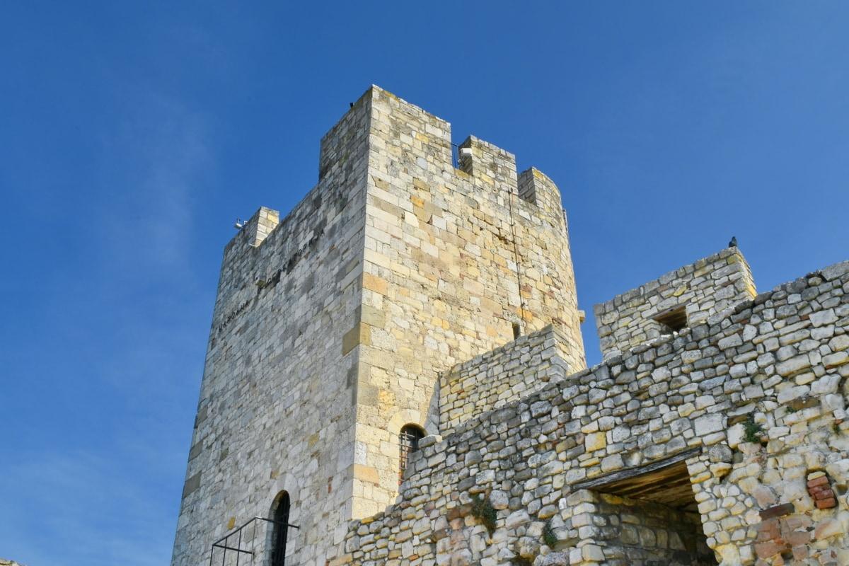 Balcan, hovedstad, middelalderlige, Serbien, fæstning, volden, gamle, slot
