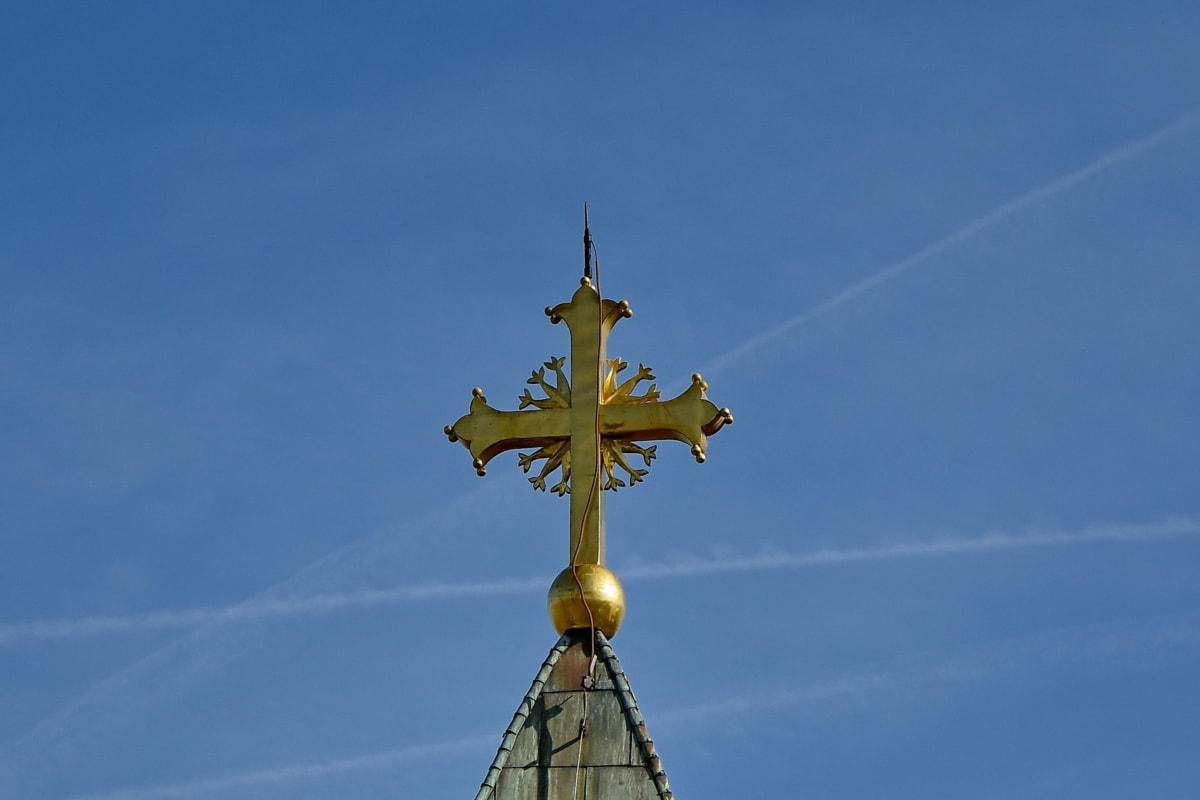 Bysantin, rajat, koriste, kultaa, Ornamentti, ulkona, Päivänvalo, arkkitehtuuri