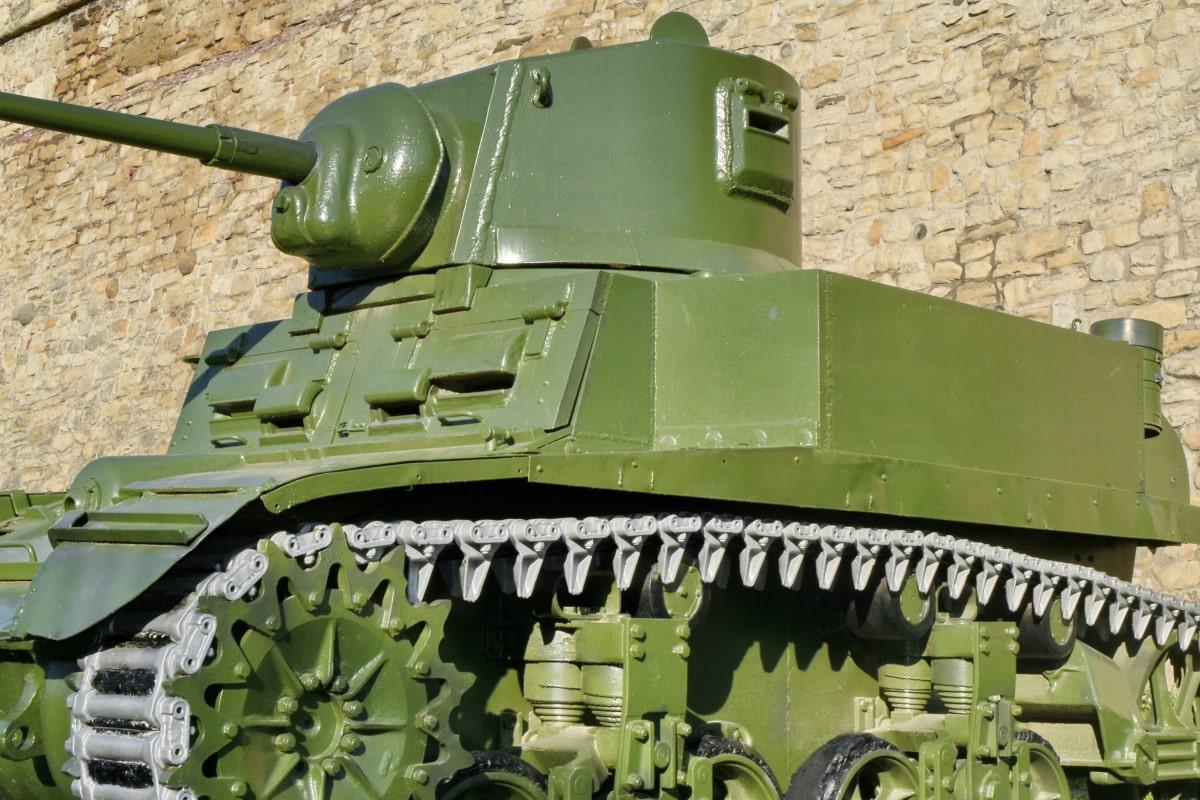 tank, zbraň, válka, dělo, brnění, vojenské, kamufláž, armáda