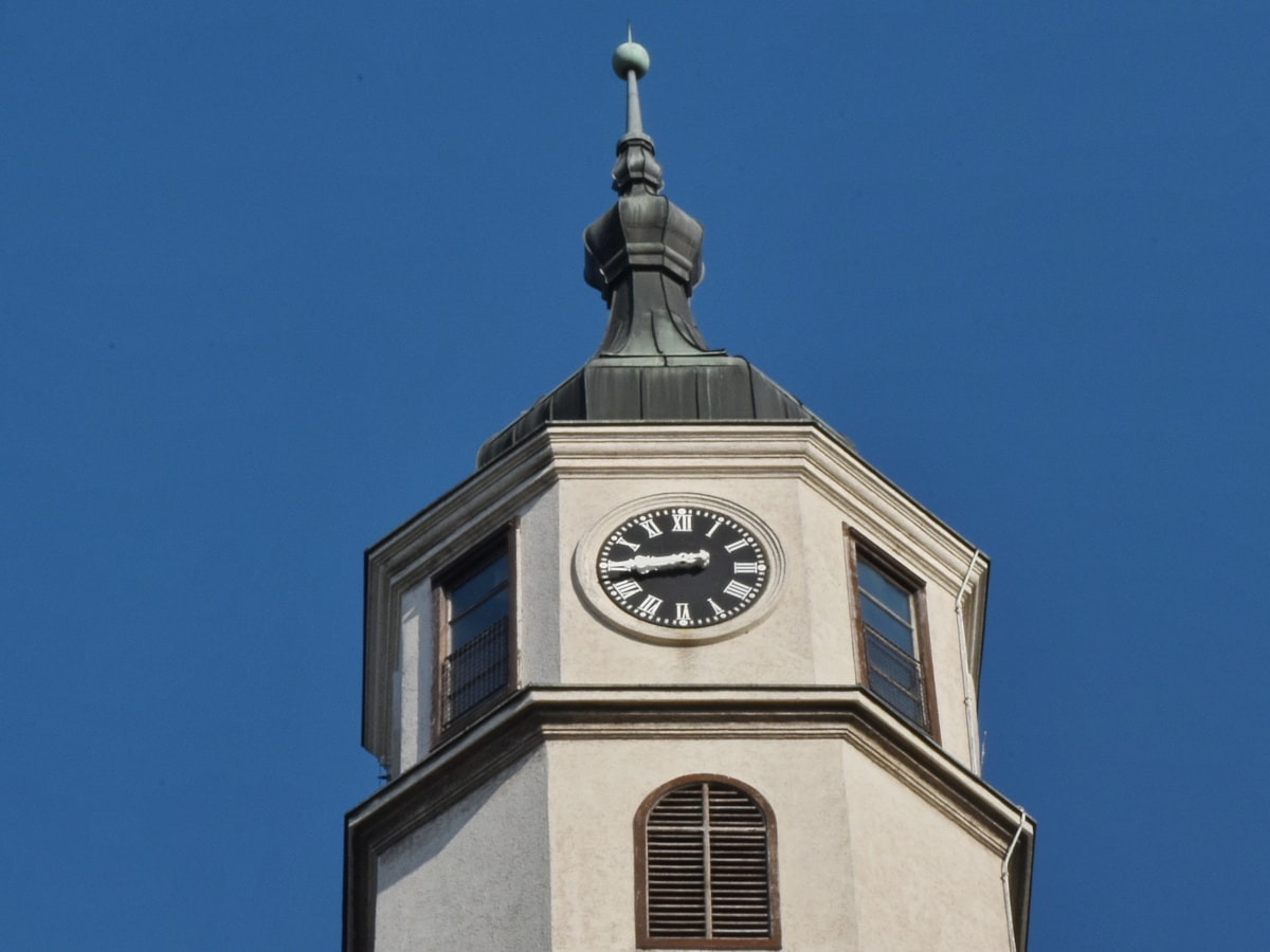 ciudad capital, Torre, arquitectura, reloj, al aire libre, construcción, antiguo, Ciudad