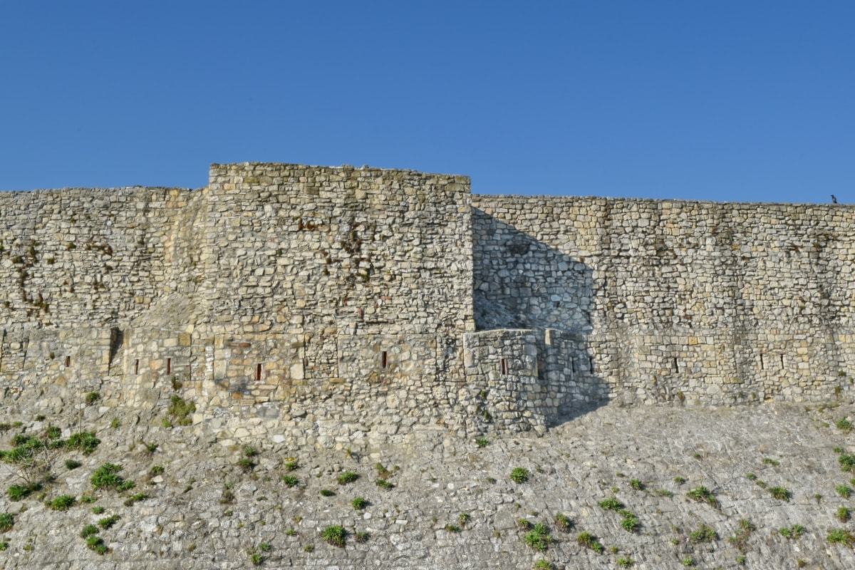 główne miasto, fortyfikacja, Twierdza, kamienny mur, Zamek, Szaniec, stary, kamień