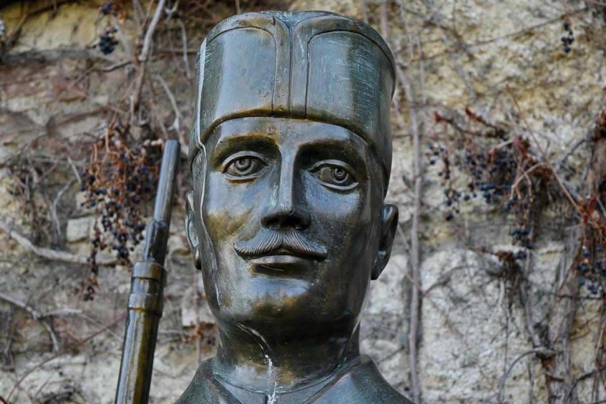 sochařství, voják, válka, Busta, socha, umění, staré, starověké