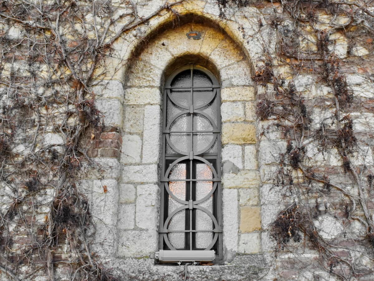 arch, cast iron, gothic, medieval, stone wall, facade, architecture, building