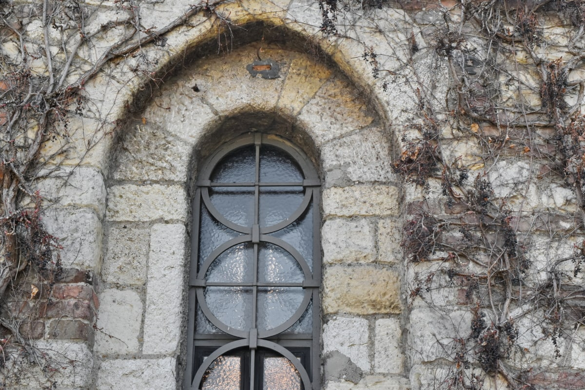 stone wall, building, window, architecture, old, wall, stone, gothic