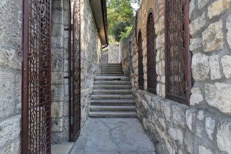 street, step, architecture, old, building, ancient, wall, stone