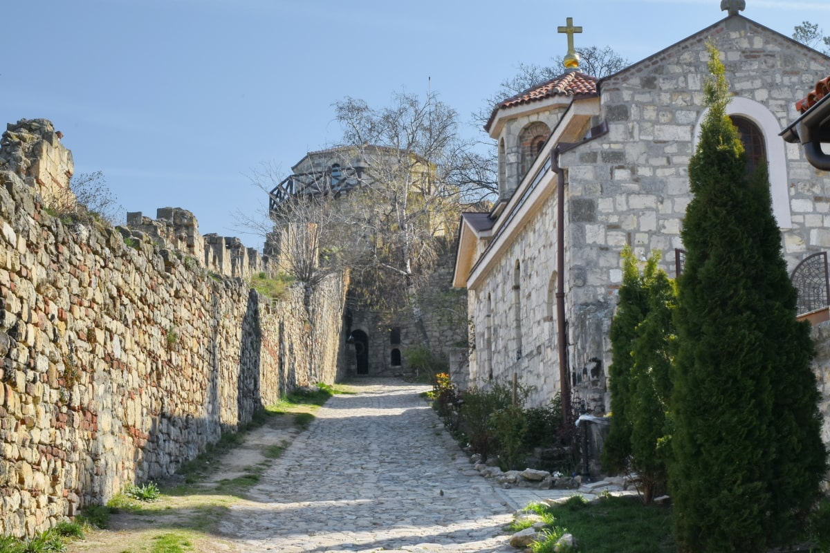 capital city, fortress, medieval, monastery, Serbia, house, residence, castle