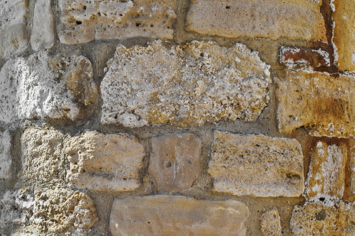rough, cement, old, wall, brick, stone, texture, stone wall