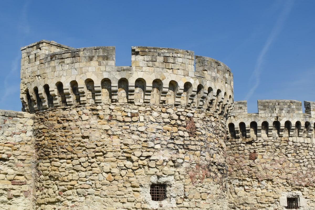 fortyfikacja, Twierdza, starożytne, styl architektoniczny, architektura, Cegła, budynek, Zamek