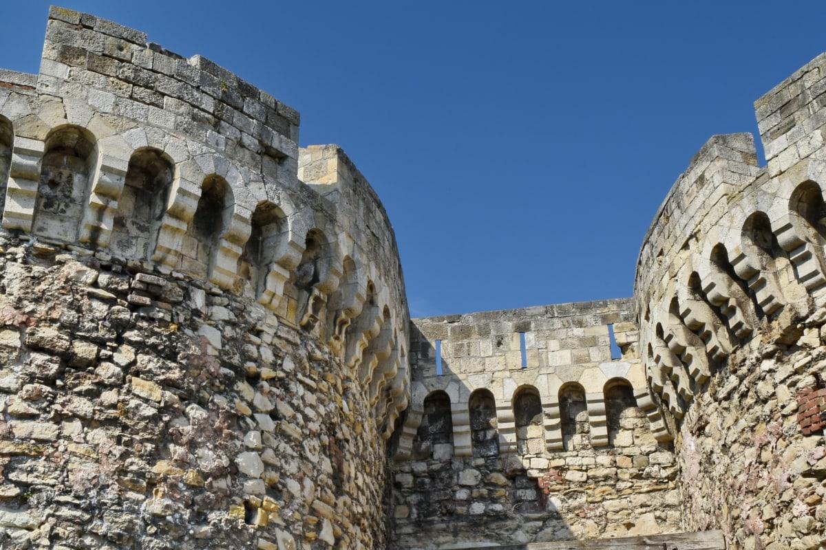 수도, 요새, 요새, 세르비아, 고 대, 아치, 건축 스타일, 아키텍처