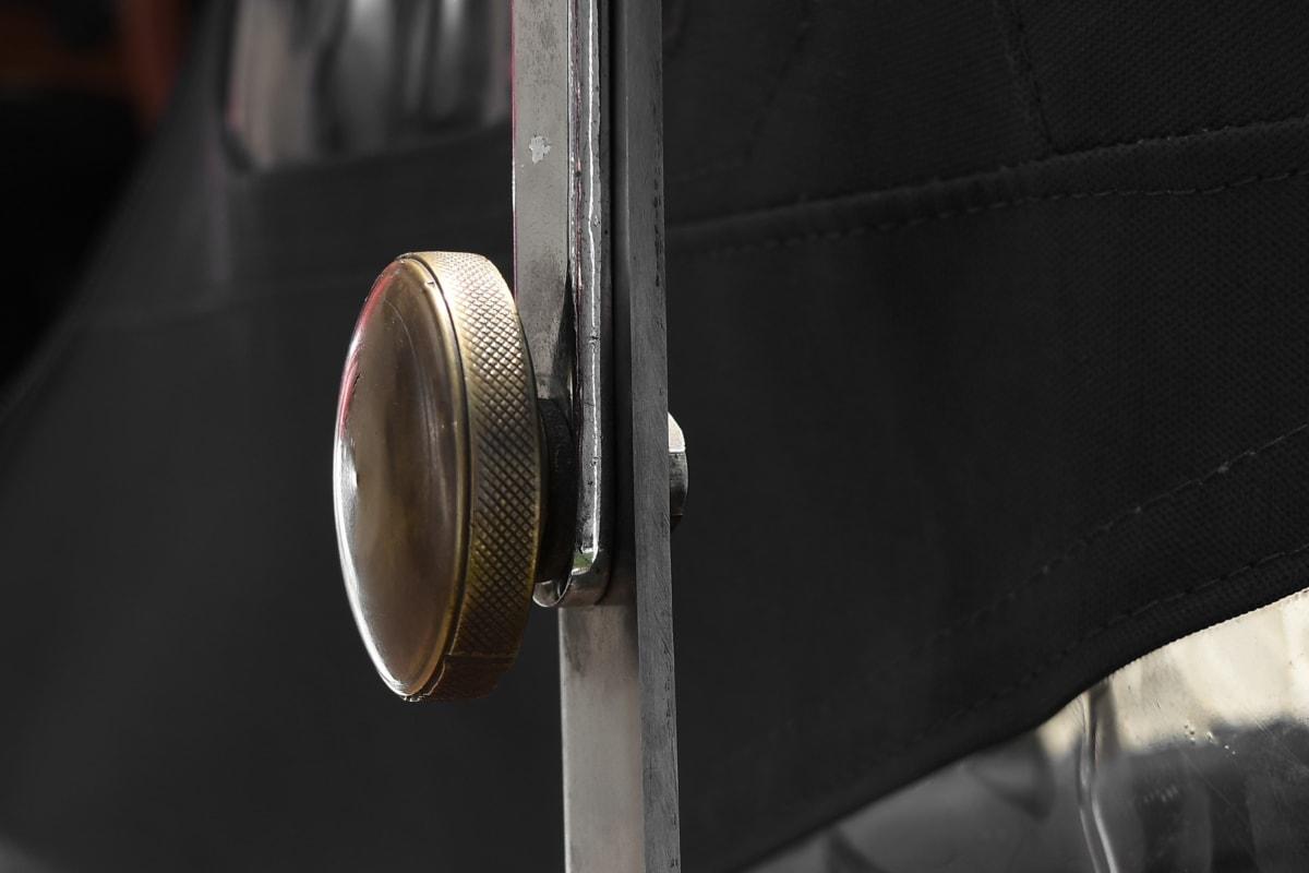 mosaz, objekt, staré, bezpečnost, ročník, klasické, venku, ocel