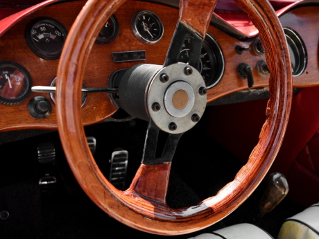 classic, wooden, dashboard, vehicle, speedometer, mechanism, car, steering wheel