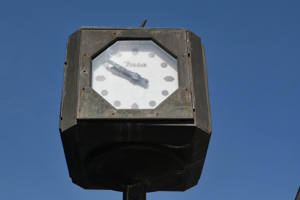 аналоговые часы, Будильник, время, на открытом воздухе, Город, цикл, Улица, транспортное средство