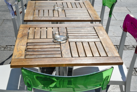 ashtray, modern, seat, chair, wood, furniture, leisure, outdoors