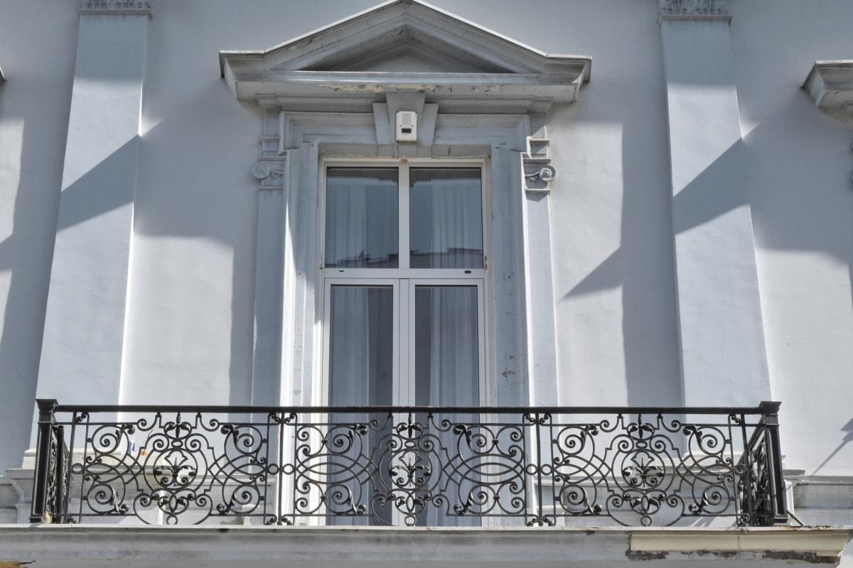 balcony, house, architecture, framework, window, building, design, outdoors