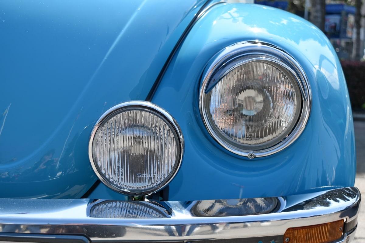 pojazd, chrom, samochodu, dysk, motoryzacyjny, reflektorów, zderzaka, Classic