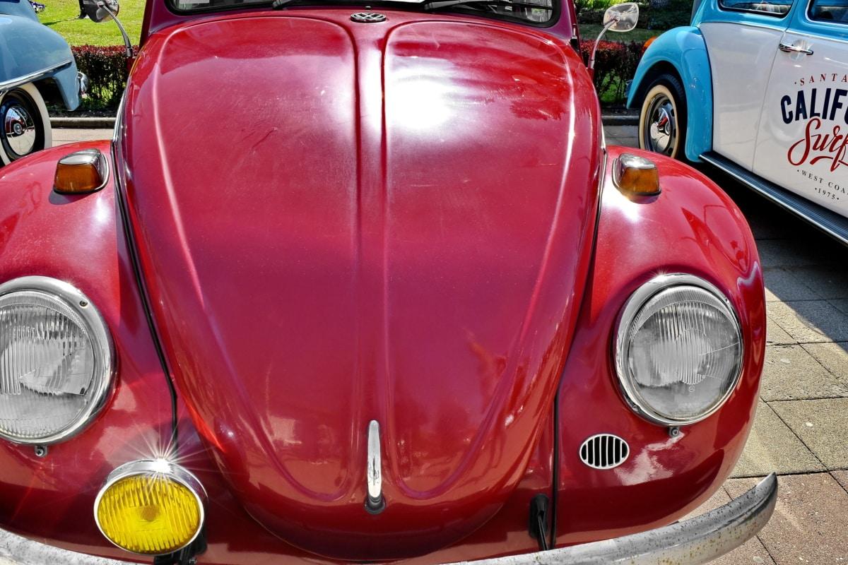 véhicule, voiture, automobile, Vitesse, transport, chrome, classique, en voiture