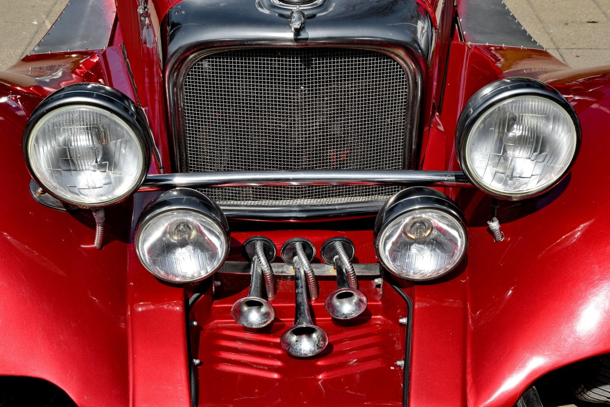 metallic, classic, bumper, automotive, chrome, vehicle, headlight, car