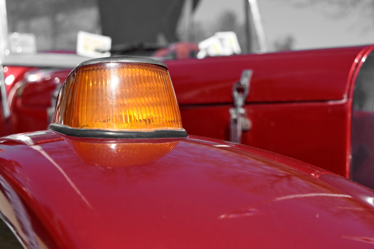 detail, vehicle, car, classic, light, vintage, daylight, old