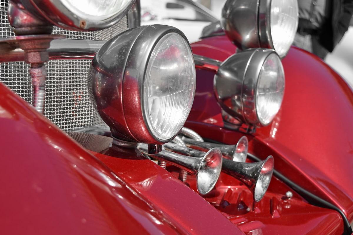 metallic, drive, chrome, car, automobile, headlight, automotive, engine