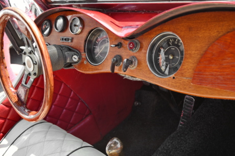 interior decoration, nostalgia, vehicle, automobile, dashboard, steering wheel, control, car