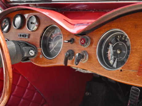 automobile, nostalgia, old fashioned, wooden, car, steering wheel, dashboard, vehicle