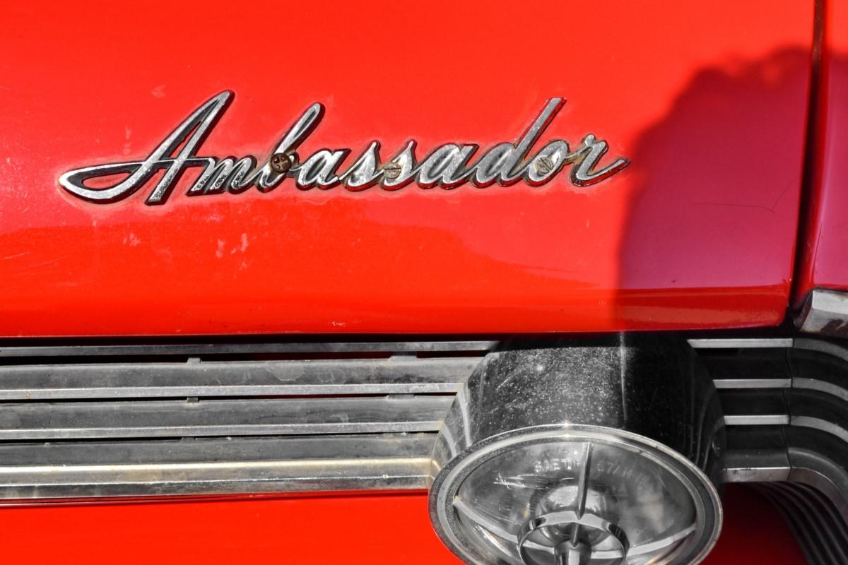 detail, bumper, car, classic, technology, vehicle, chrome, equipment