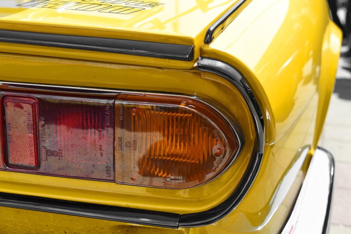 αυτοκίνητο, αυτοκινητοβιομηχανία, μεταφορά, όχημα, κλασικό, γρήγορη, παλιάς χρονολογίας, χρώμιο