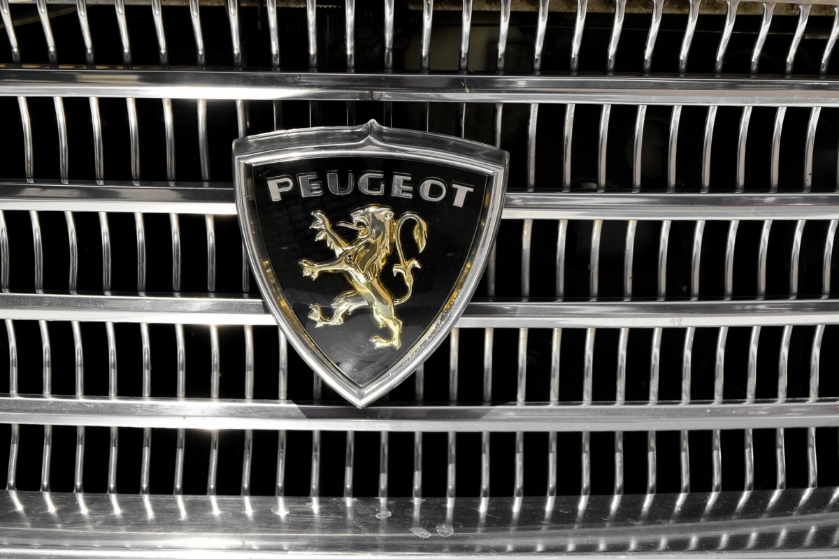 automobile, France, metallic, steel, iron, chrome, design, classic