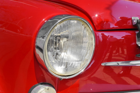 headlight, nostalgia, Yugoslavia, classic, chrome, automotive, bumper, car