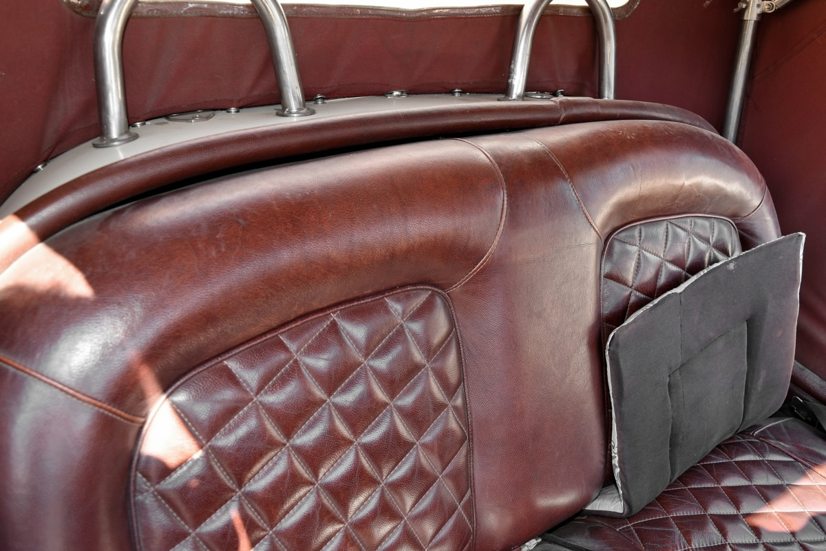car seat, leather, seat, chair, furniture, luxury, indoors, retro