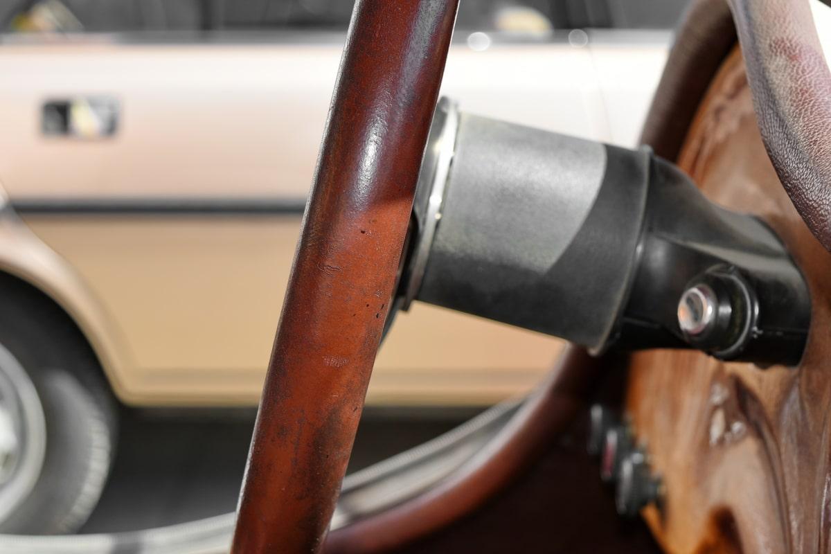 nostalgia, car, vehicle, drive, steering wheel, old, equipment, chrome