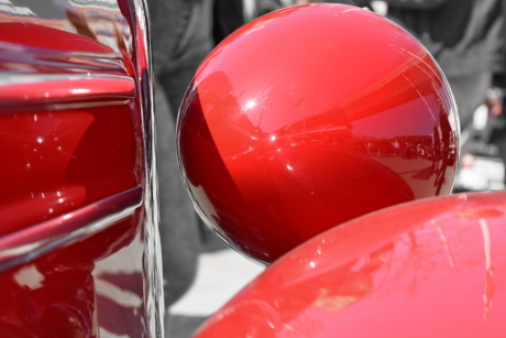 metal, red, vintage, vehicle, car, industry, color, art