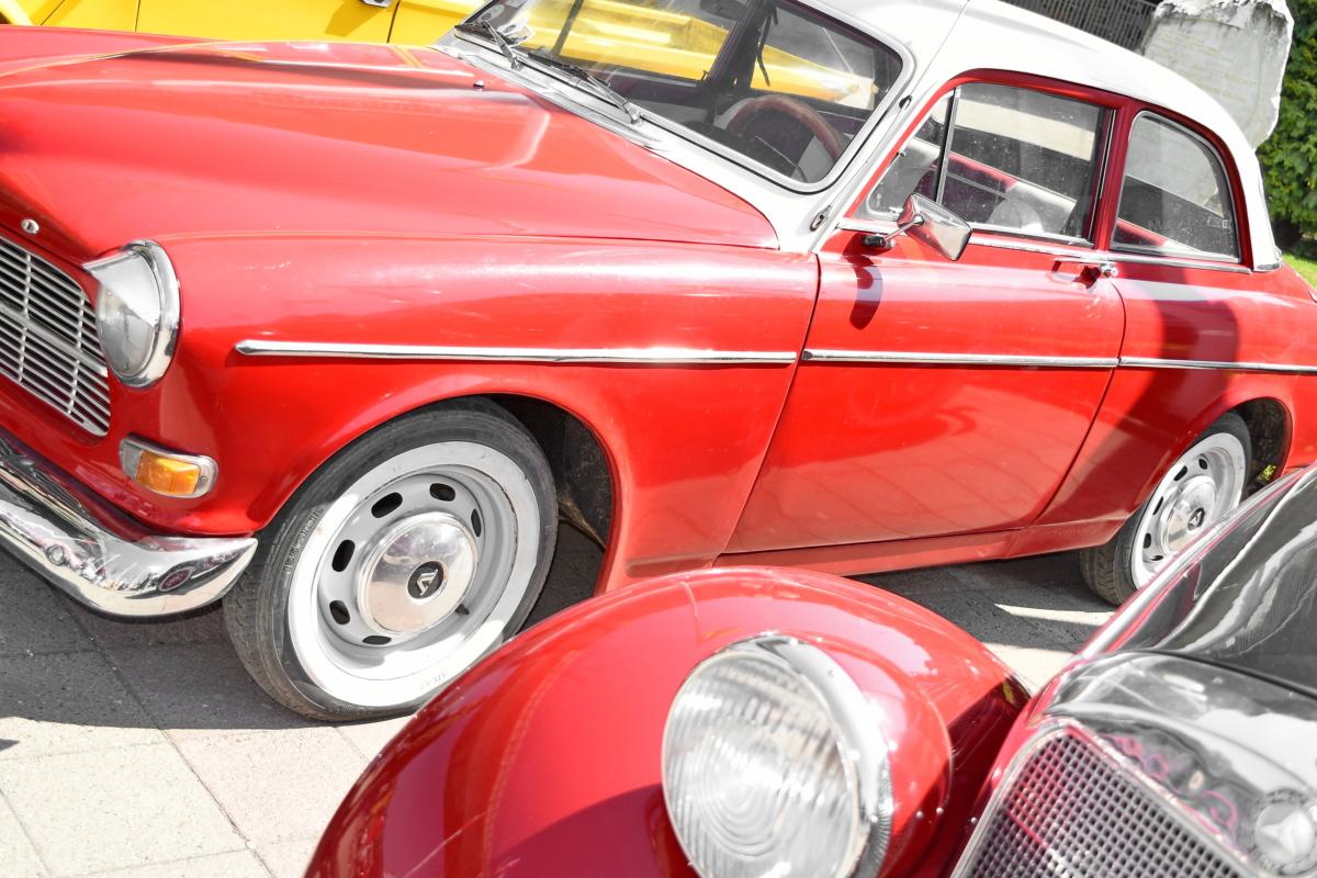 bil, krom, coupe bil, bil, stasjon, kjøretøy, bil, klassisk