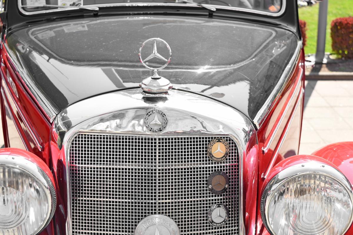 drive, classic, vehicle, car, headlight, chrome, bumper, automotive