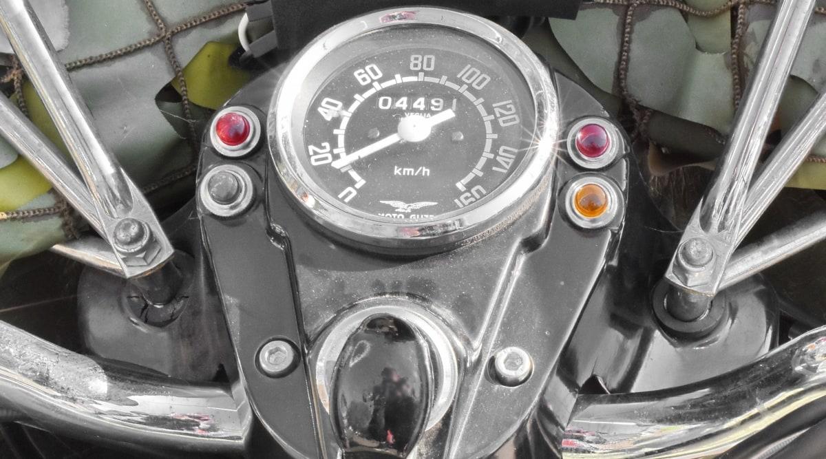 hastighetsmätare, enhet, mätaren, fordon, instrumentet, trippmätaren, enhet, hjulet