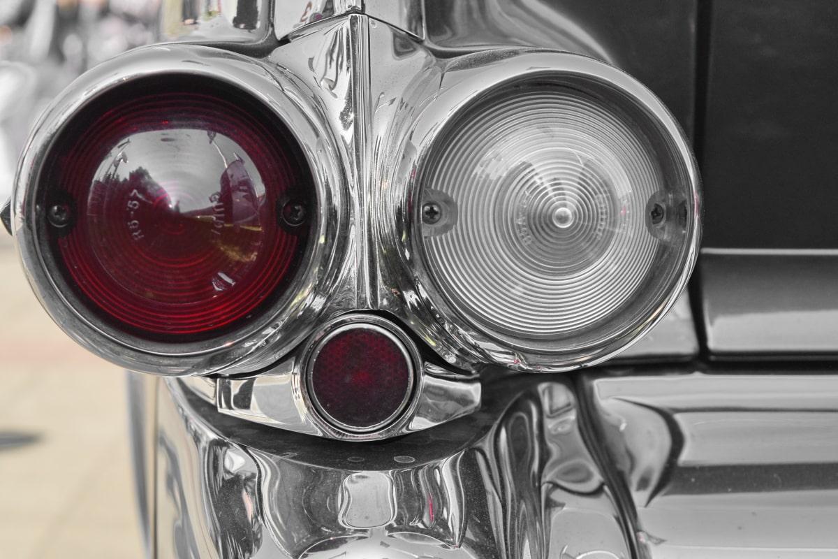 chrome, metallic, nostalgia, car, vehicle, technology, drive, vintage