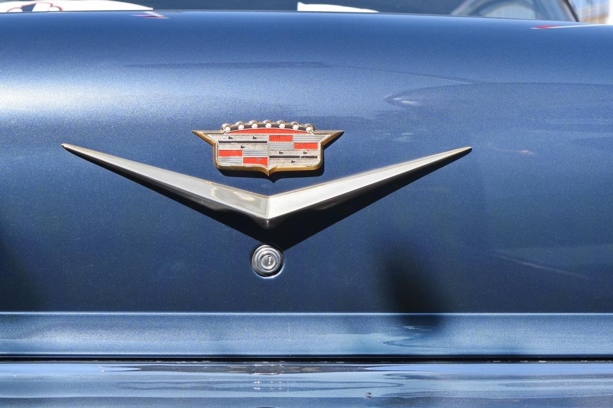 blue, car, metallic, sign, vehicle, reflection, outdoors, landscape