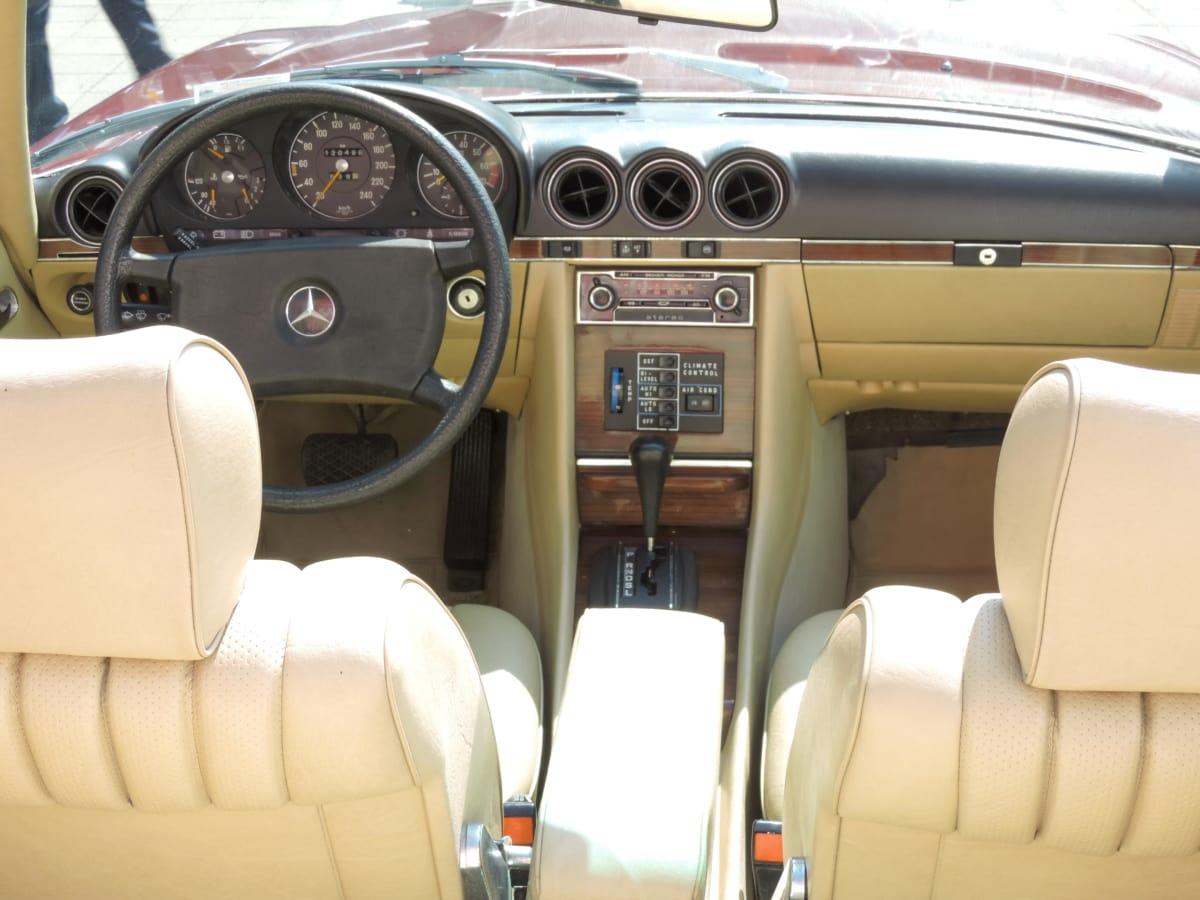 รถยนต์นั่ง, ตกแต่งภายใน, ความคิดถึง, เก่า, พวงมาลัย, ยานยนต์, รถ, ควบคุม