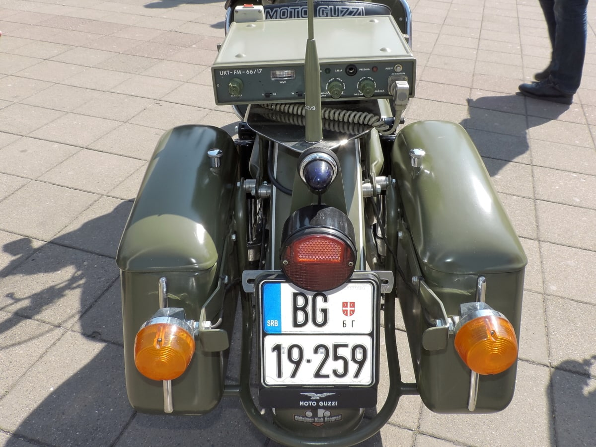 military, motorcycle, parking lot, bike, car, city, control, drive