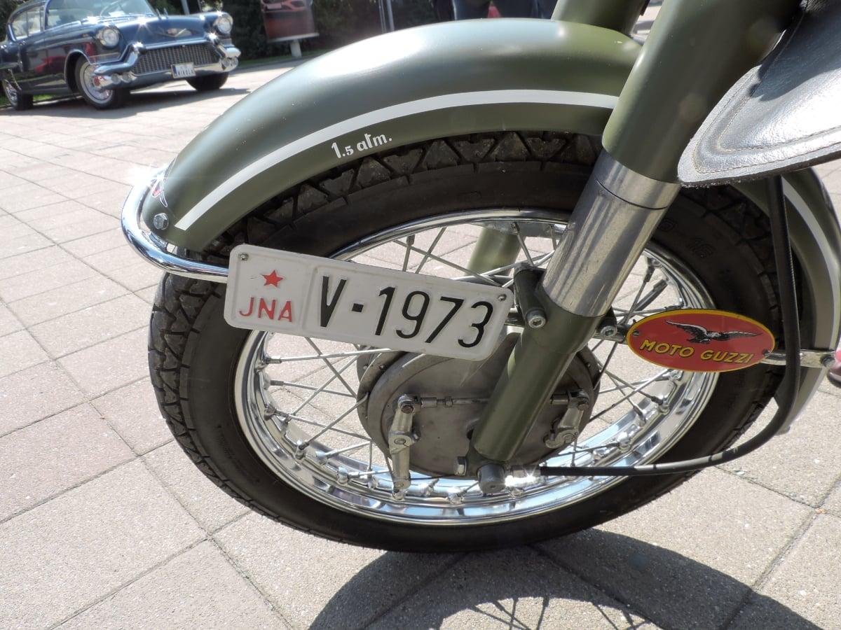 moto, Parque de estacionamento, pneu, ação, bicicleta, carro, cromado, concorrência