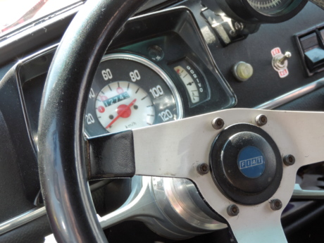 Italy, nostalgia, steering wheel, drive, speedometer, dashboard, vehicle, car