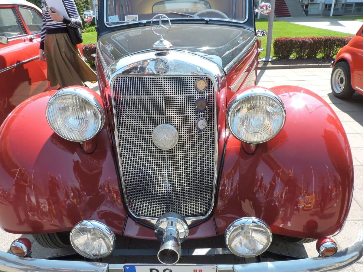 cars, headlight, luxury, parking lot, automobile, automotive, bumper, car