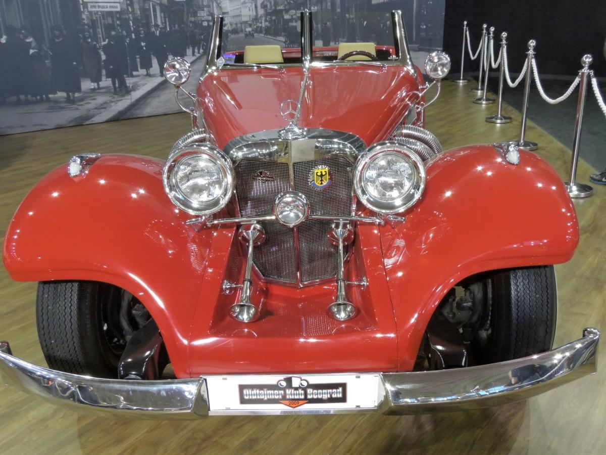 носталгия, автомобилни, автомобилни, кола, хром, класически, двигател, изложба