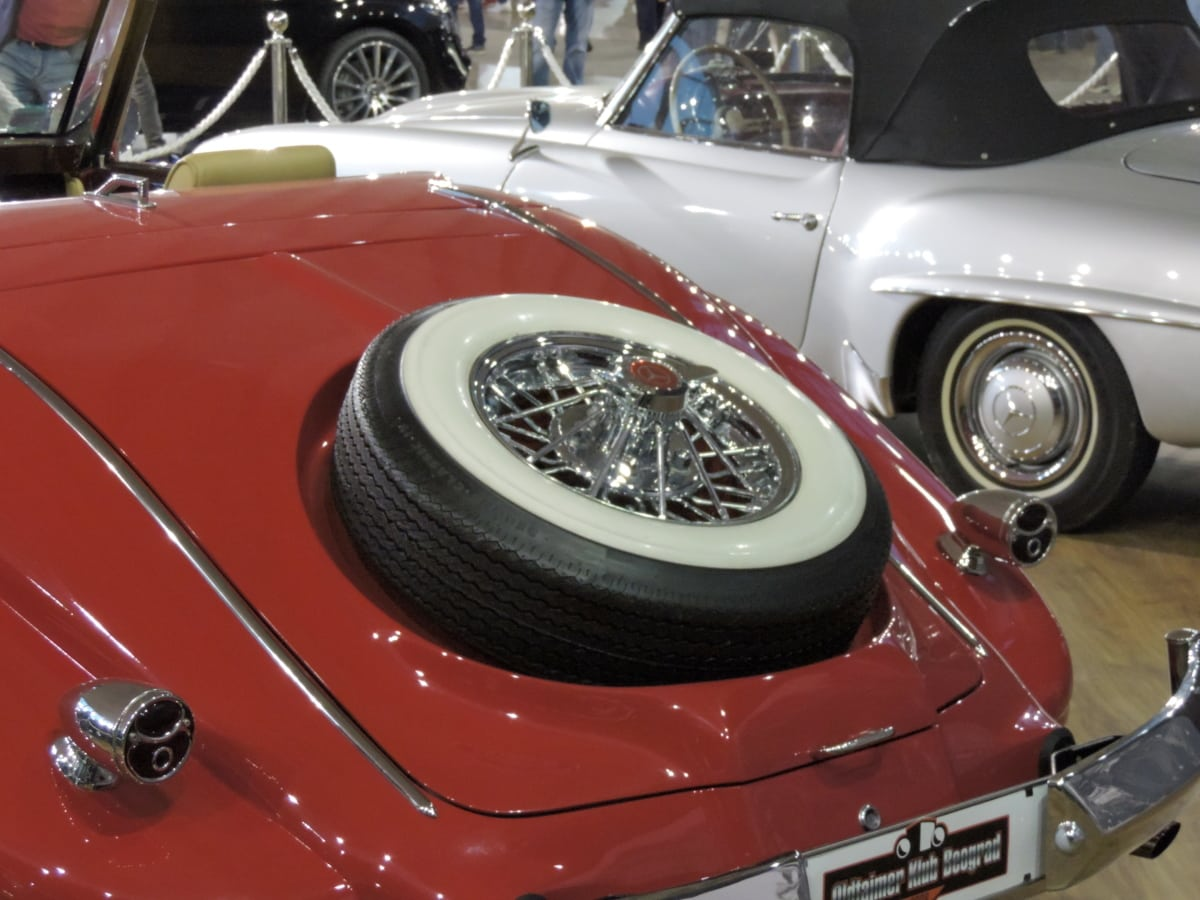 nostalgia, automobile, automotive, car, chrome, classic, convertible, drive