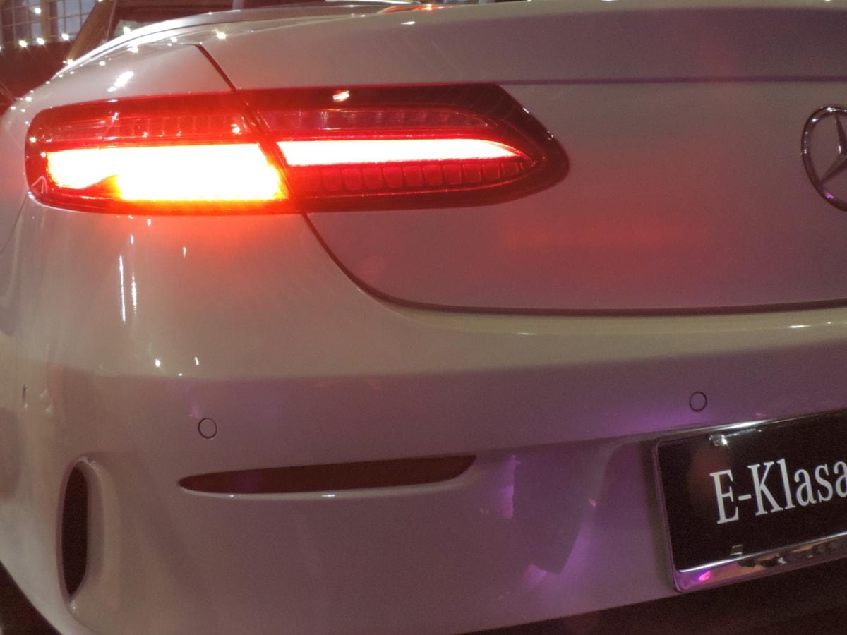 svjetlo, crveno svjetlo, sportski auto, svijetle, auto, krom, klasični, dizajn
