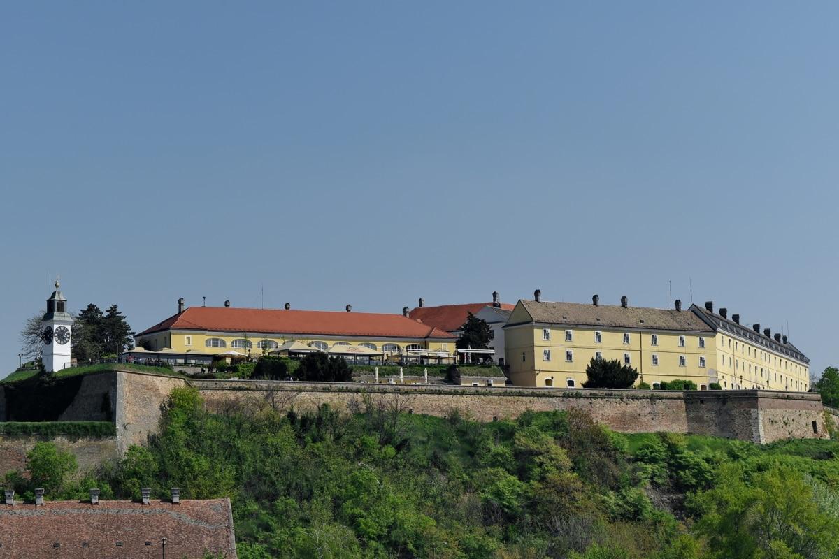 dvorac, utvrda, bedem, Srbija, turistička atrakcija, urbano područje, arhitektura, Kuća