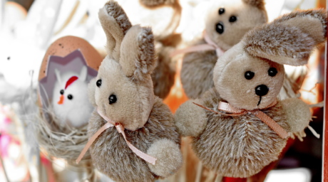 teddy bear toy, bunny, toy, cute, animal, easter, nature, rabbit
