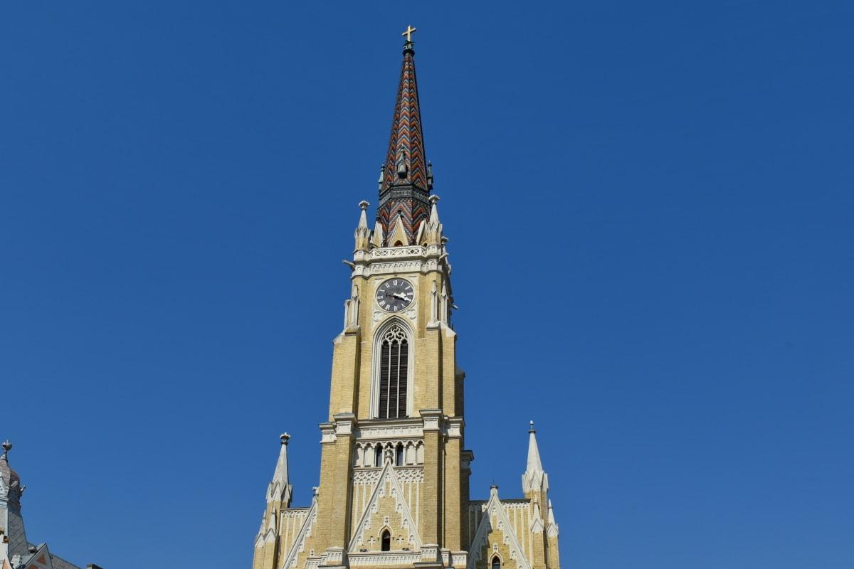 menara gereja, objek wisata, Katedral, arsitektur, bangunan, tengara, Gereja, penutup